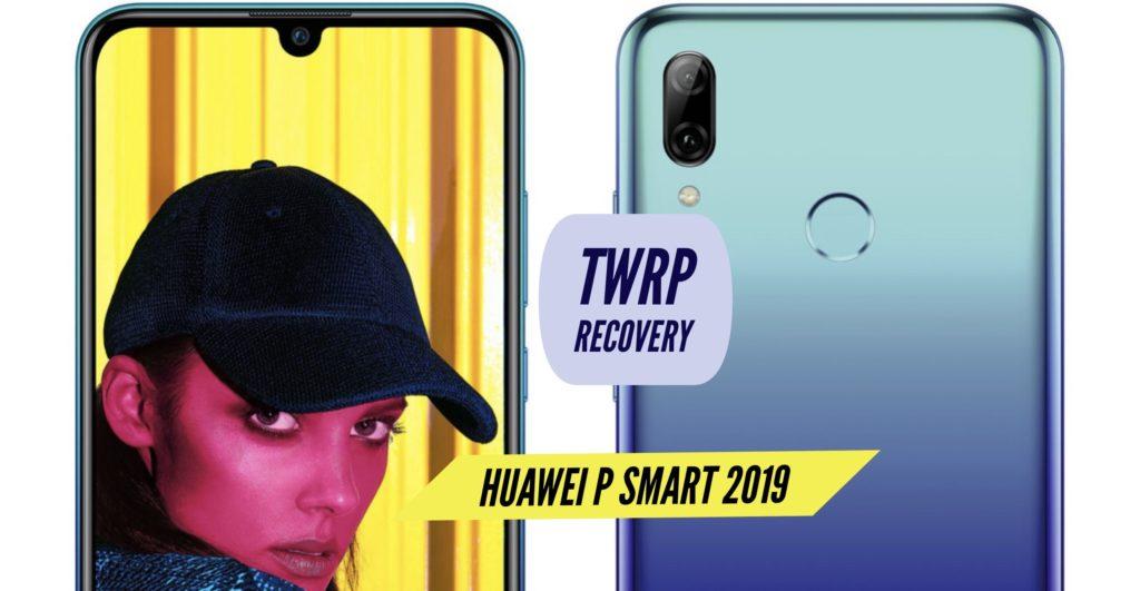TWRP Huawei P Smart 2019