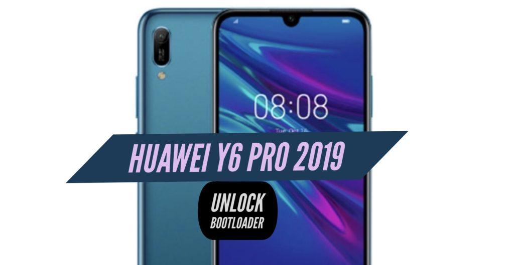 Unlock Bootloader Huawei Y6 Pro 2019