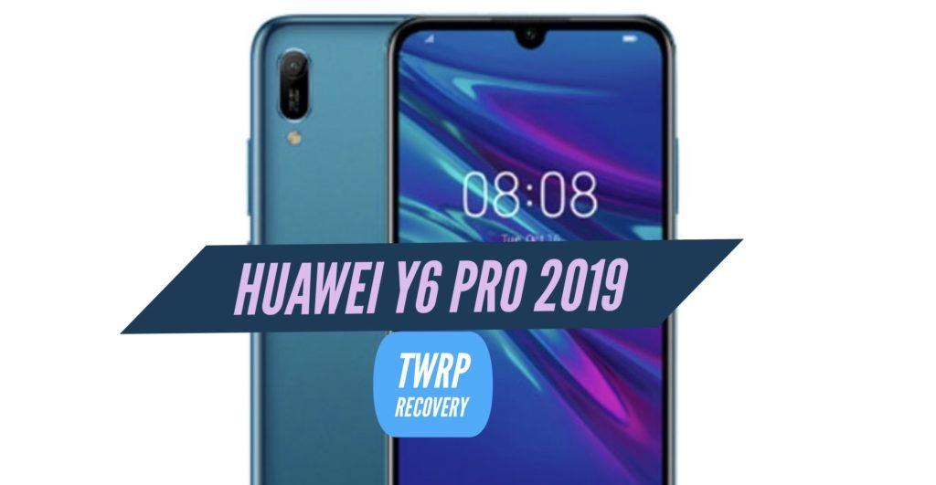 TWRP Huawei Y6 Pro 2019