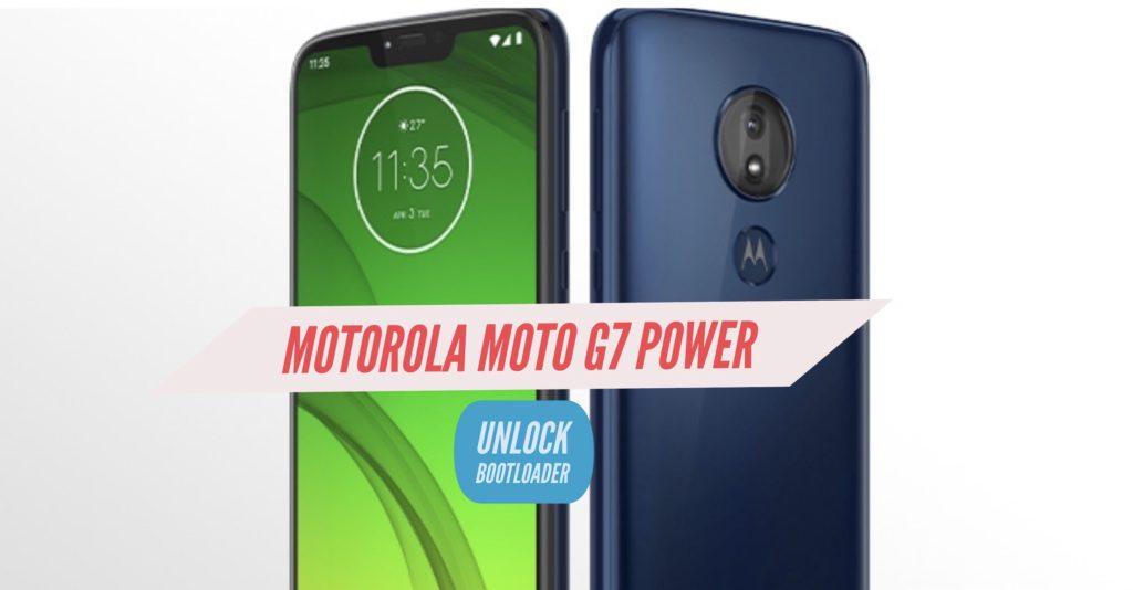 Unlock Bootloader Motorola Moto g7 Power