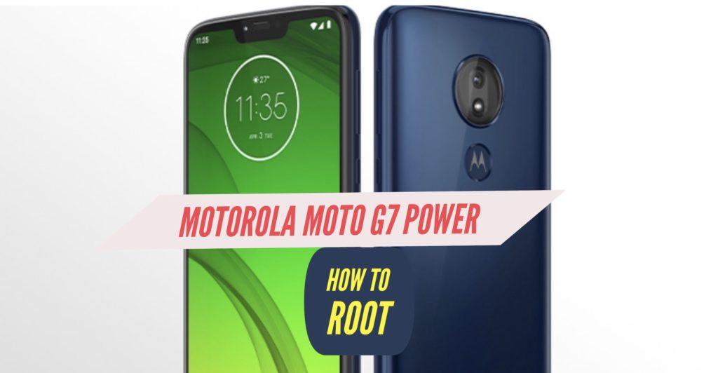 Root Motorola Moto g7 Power