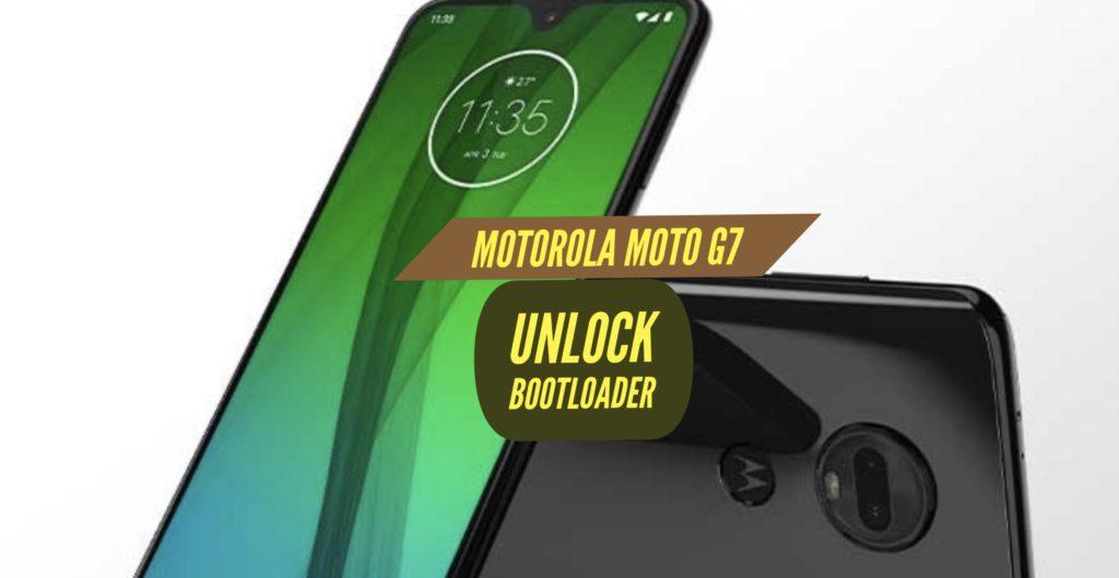 Unlock Bootloader Motorola Moto G7