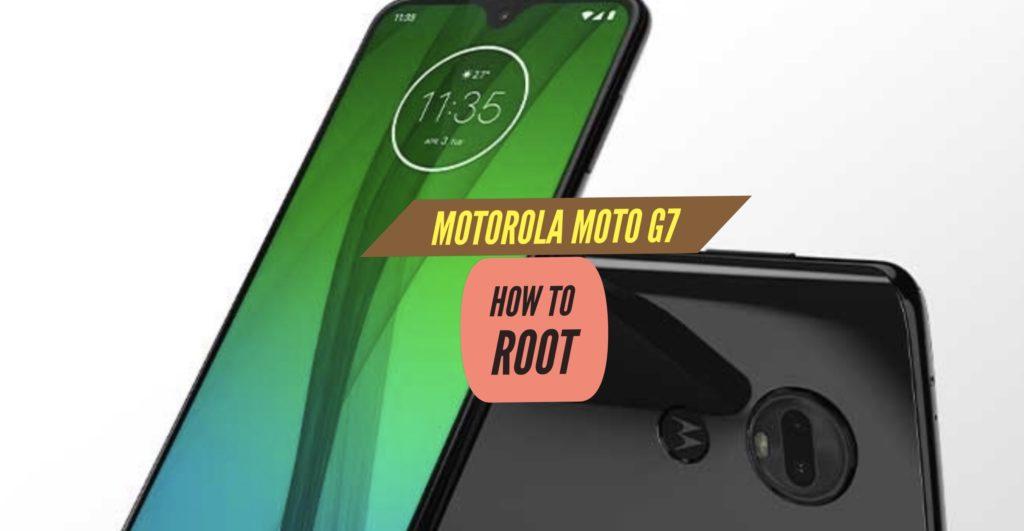 Root Motorola Moto G7