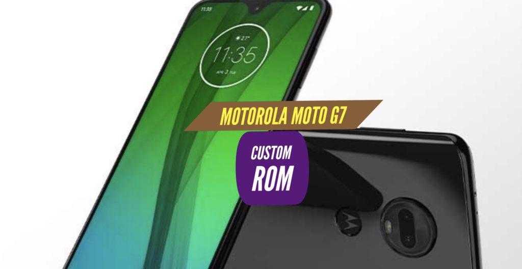 Motorola Moto G7 Custom ROM
