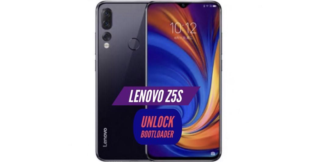 Unlock Bootloader Lenovo Z5s