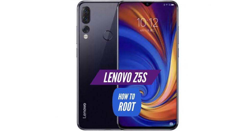 Root Lenovo Z5s