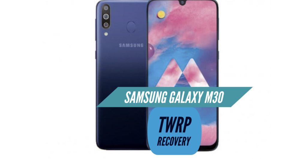 TWRP Samsung Galaxy M30