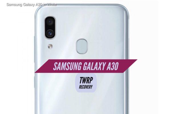 TWRP Galaxy A30