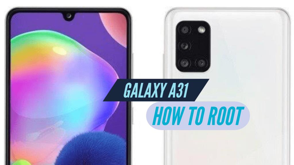 Root Samsung Galaxy A31