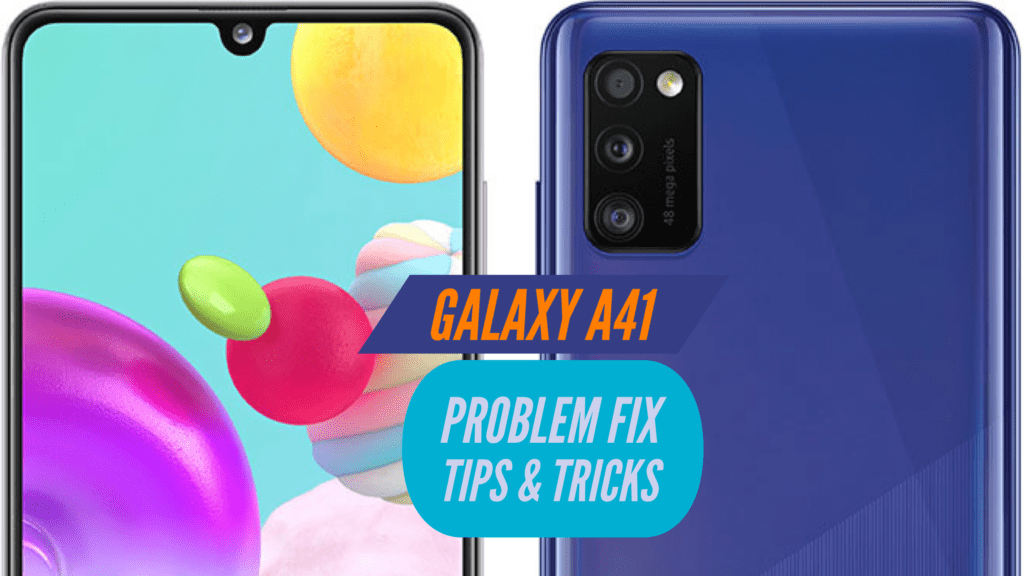Samsung Galaxy A41 Problem Fix Issues Solution TIPS & TRICKS