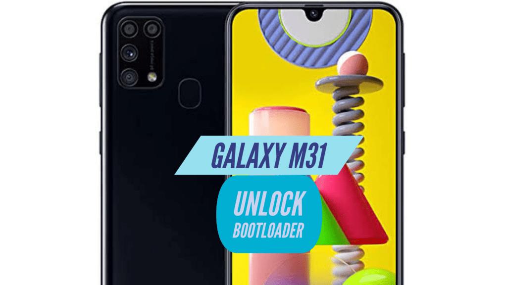 Unlock Bootloader Galaxy M31