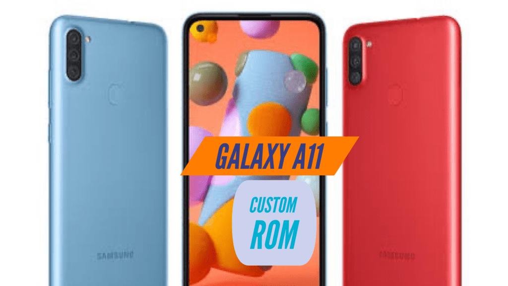 Samsung Galaxy A11 Custom ROM