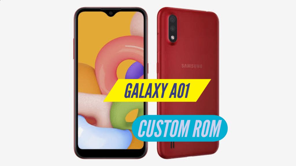 Samsung Galaxy A01 Custom ROM