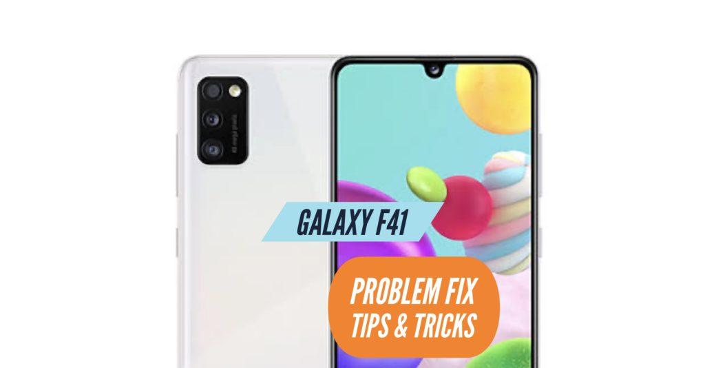 Galaxy F41 Problem Fix Issues Solution TIps & Tricks