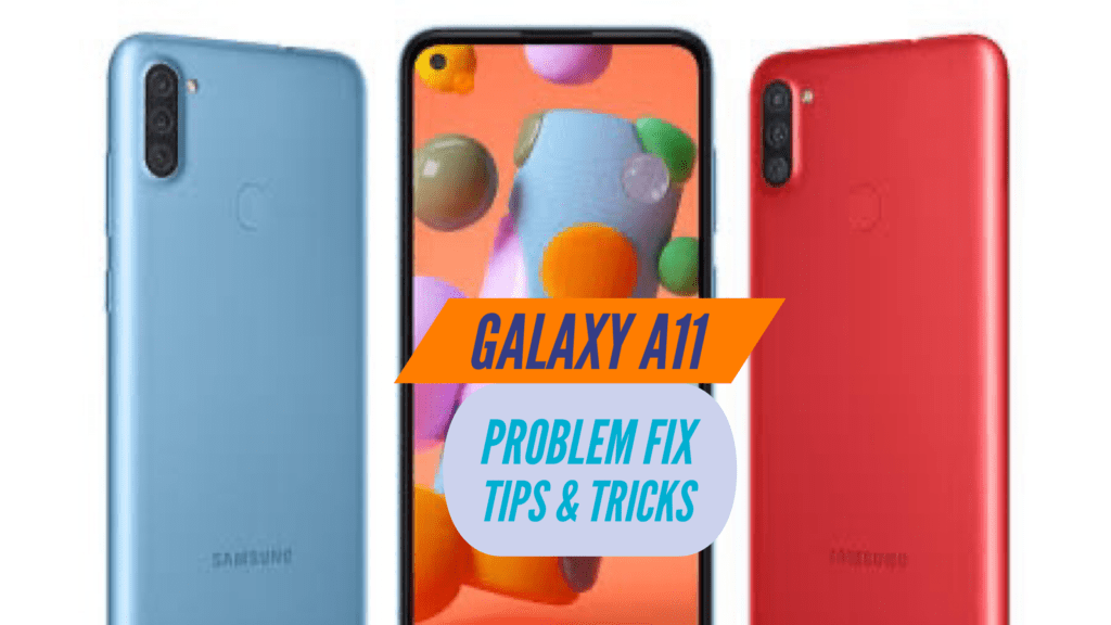 Samsung Galaxy A11 Problem Fix Issues Solution TIPS & TRICKS
