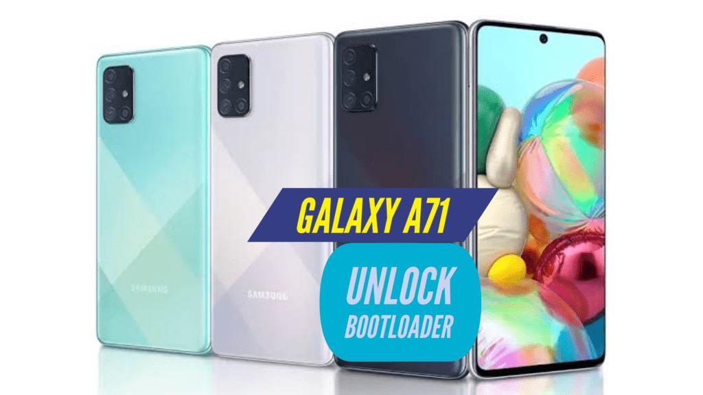 Unlock Bootloader Samsung Galaxy A71