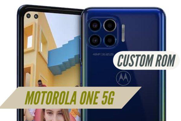 Motorola One 5G Custom ROM