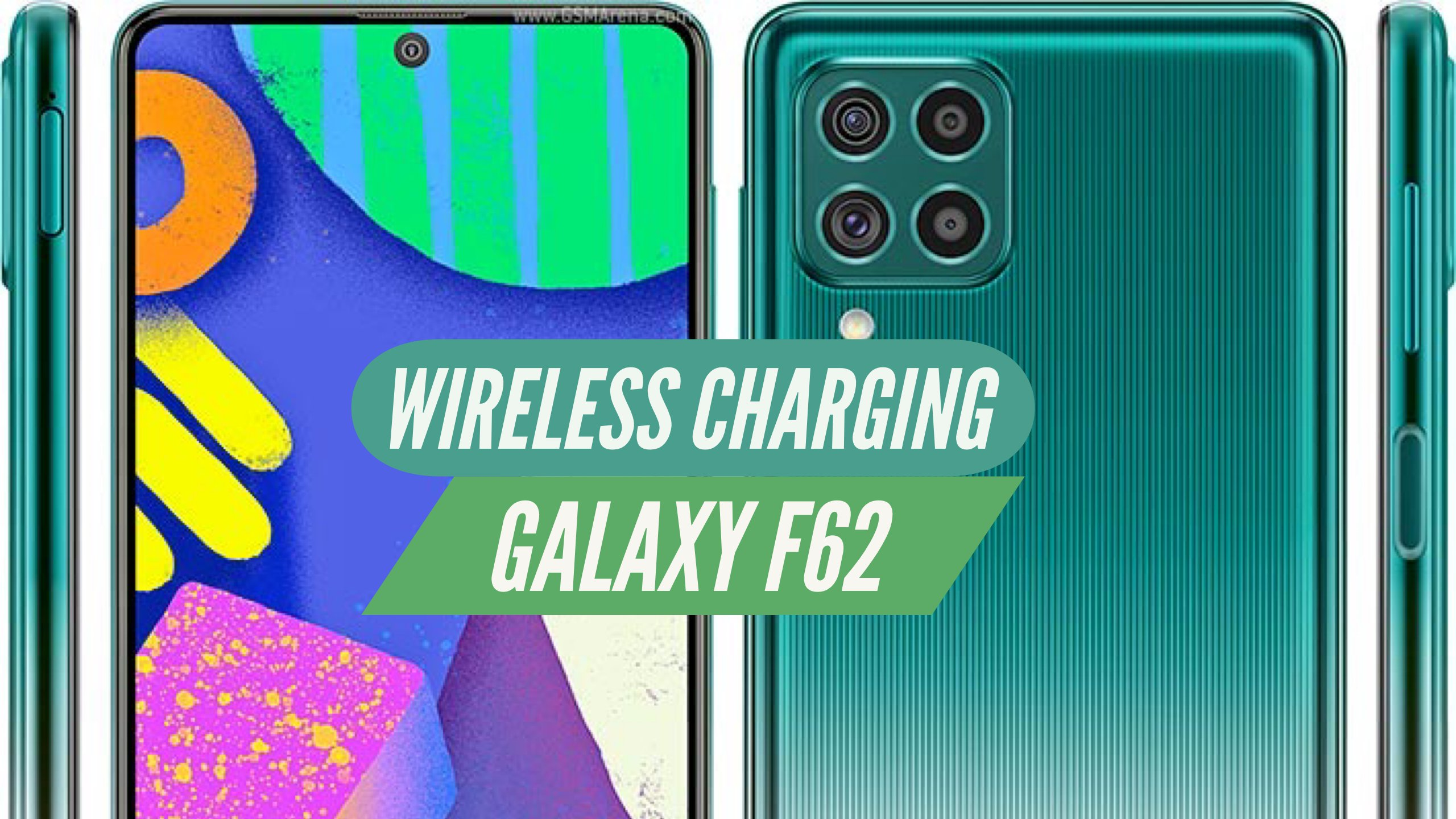 Galaxy F62 Wireless Charging