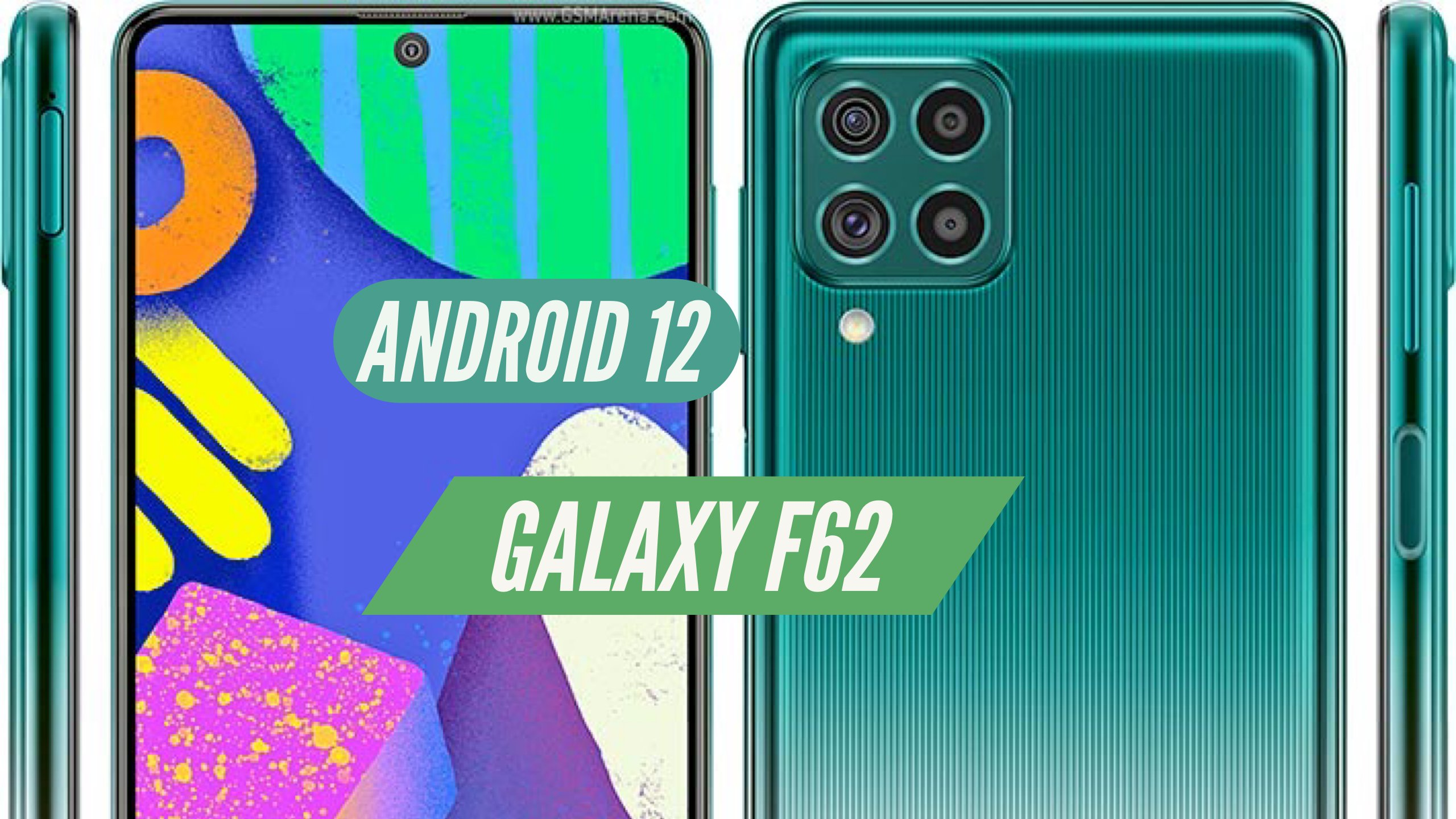 Galaxy F62 Android 12