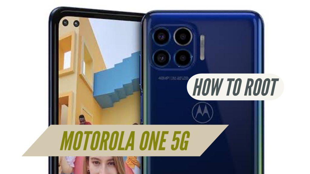Root Motorola One 5G