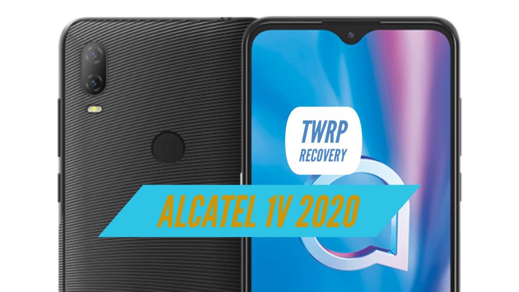 TWRP Alcatel 1V 2020