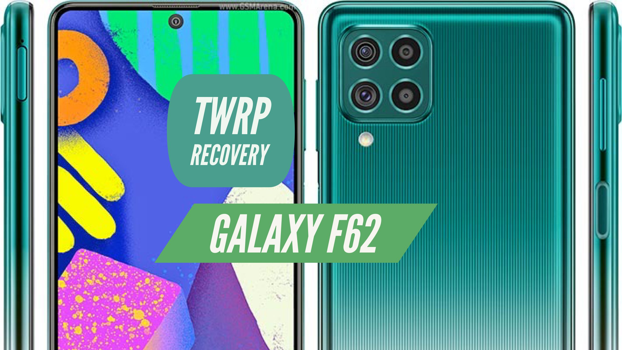 Galaxy F62 TWRP Recovery