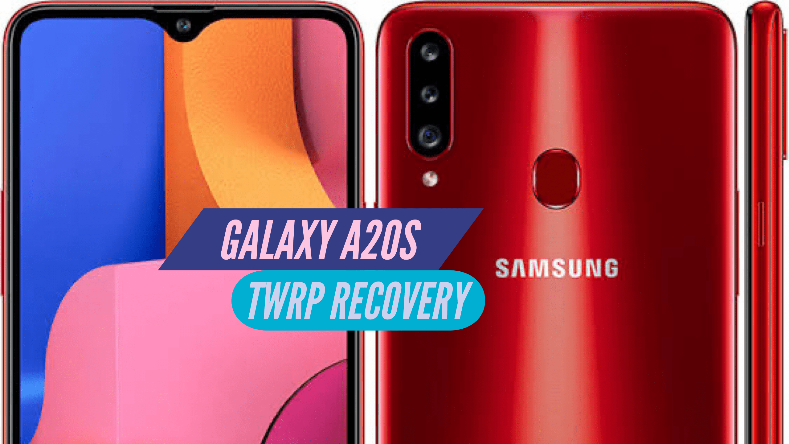 Samsung Galaxy A20s TWRP Recovery