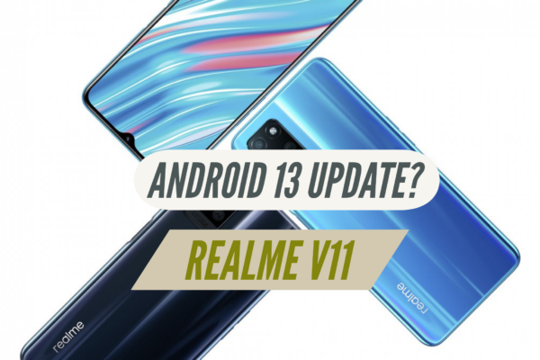 Will Realme V11 Receive Android 13 Update