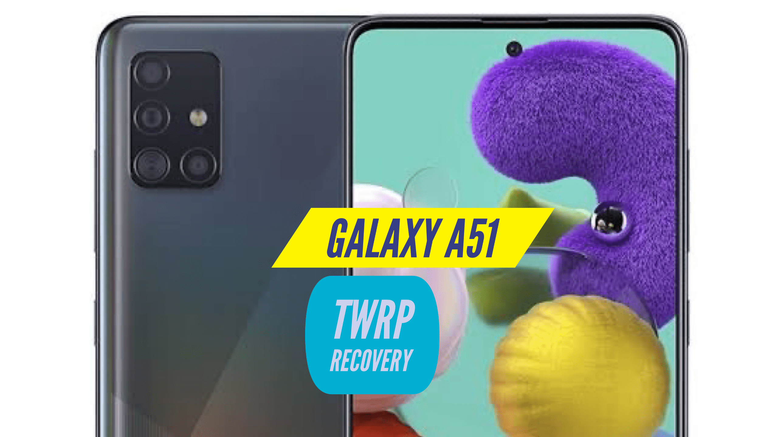 Samsung Galaxy A51 TWRP Recovery