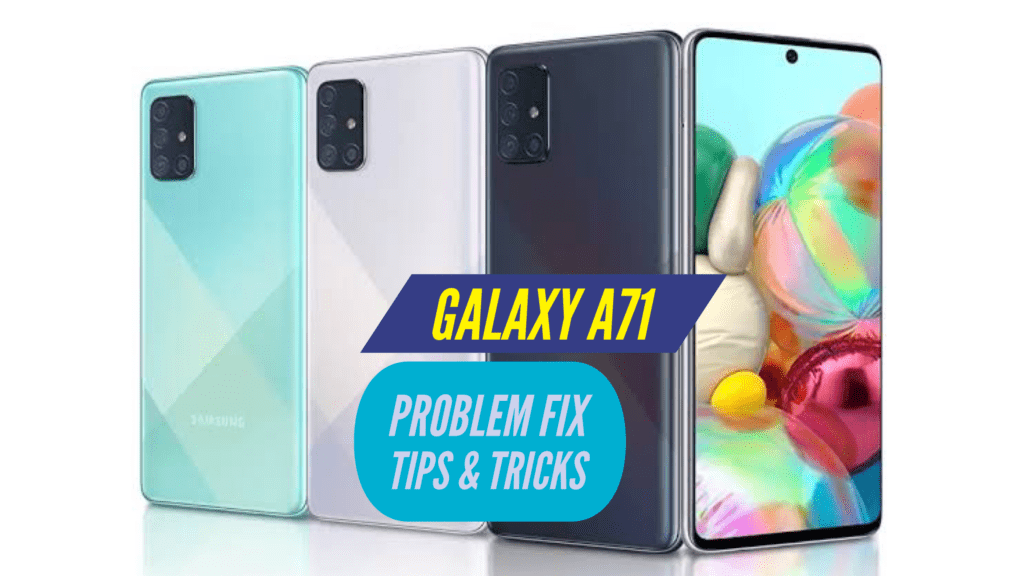 Samsung Galaxy A71 Problem Fix Issues Solution TIPS & TRICKS