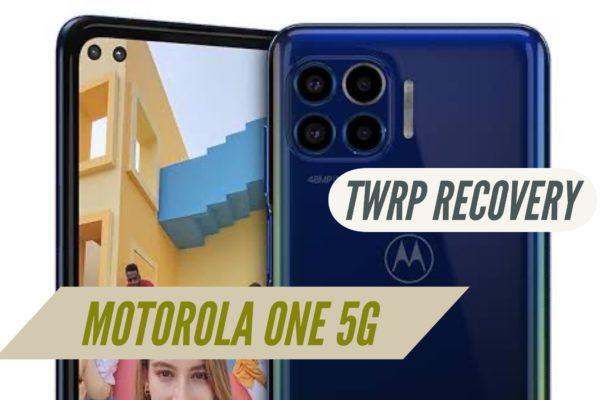 Motorola One 5G TWRP Recovery