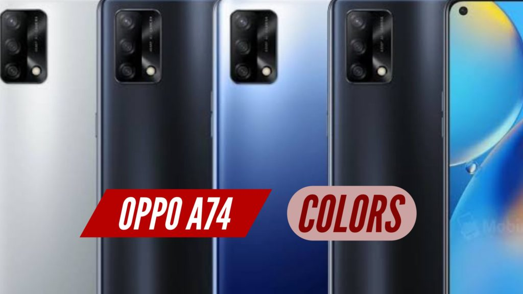 OPPO A74 Colors
