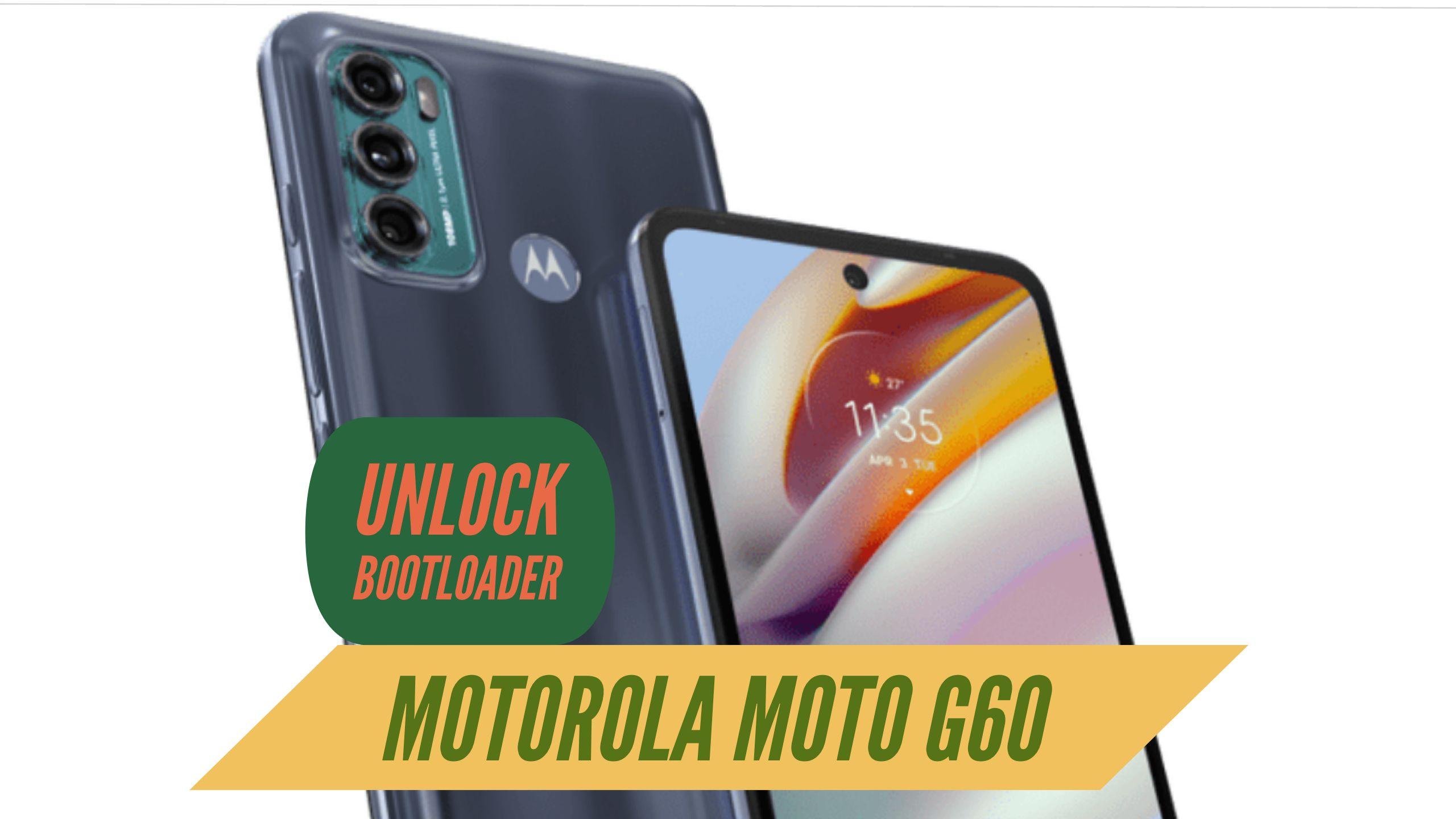 Unlock Bootloader Motorola Moto G60