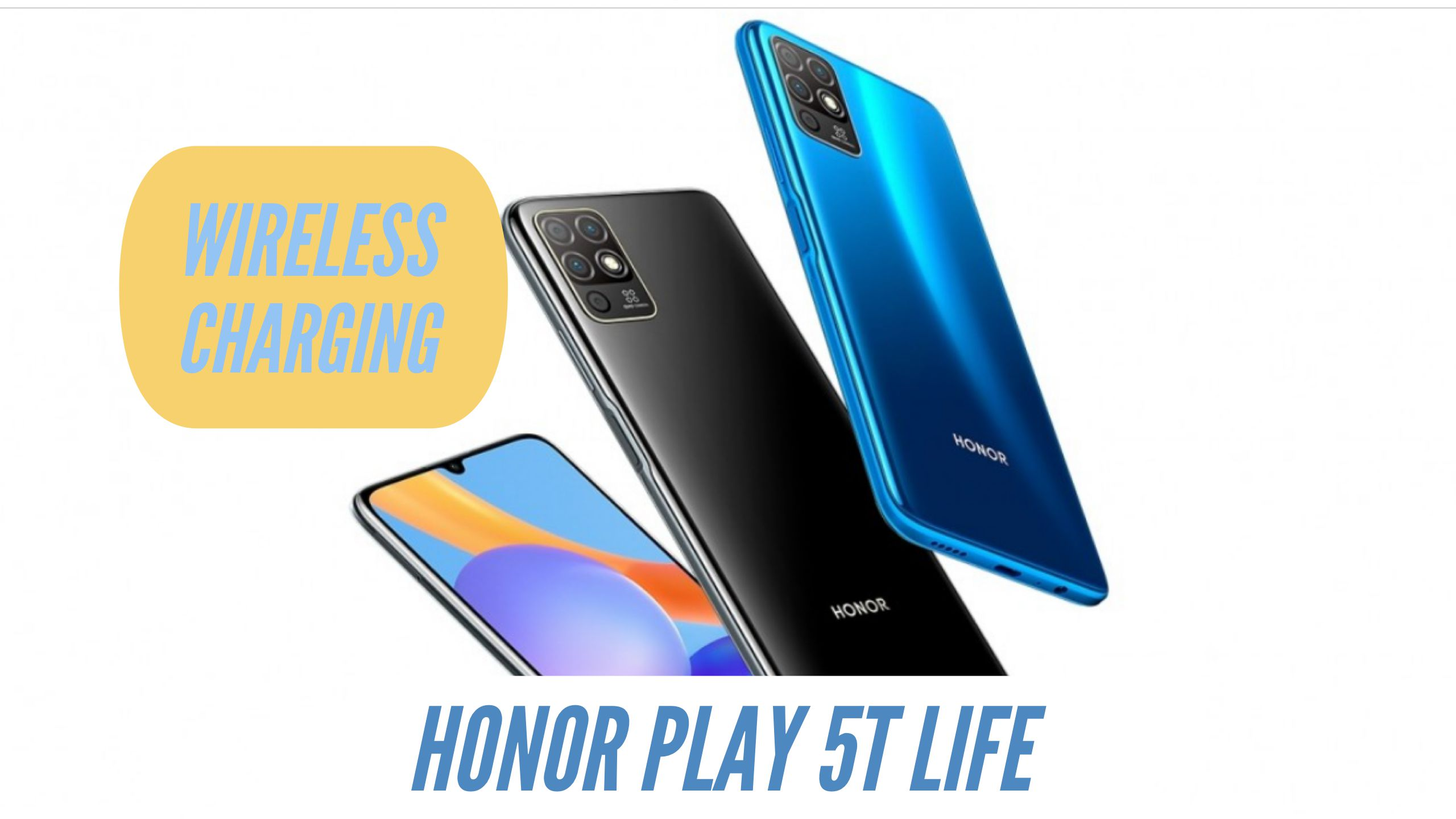 Honor Play 5T Life Wireless Charging
