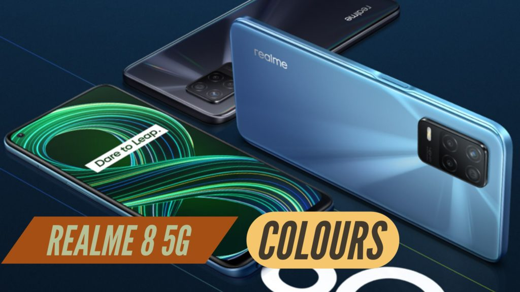 Realme 8 5G Colours