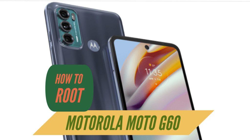 Root Motorola Moto G60