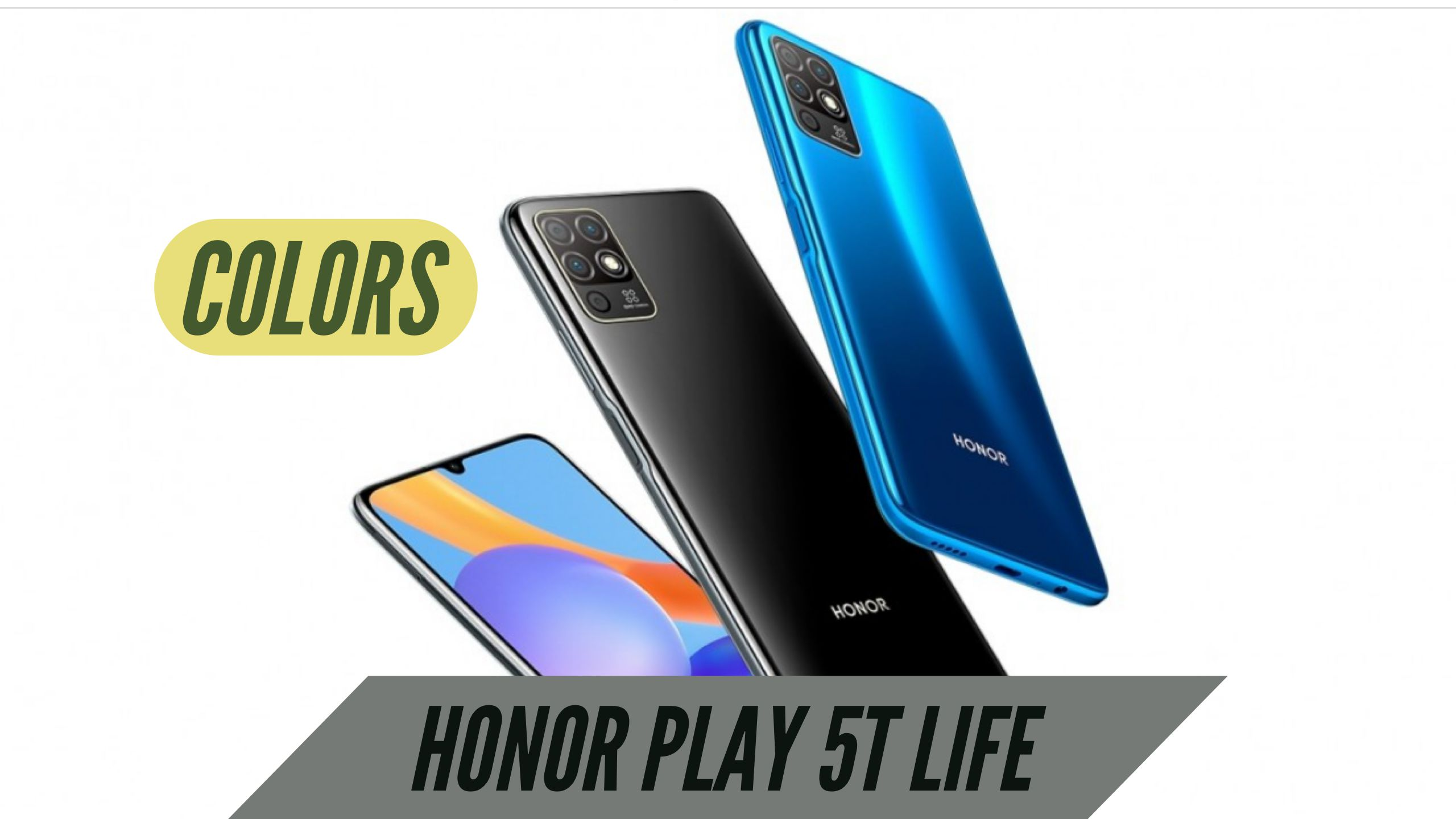 Honor Play 5T Life Colors