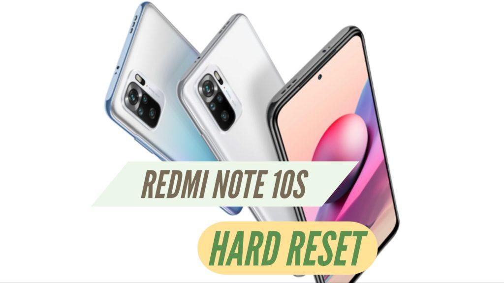 Redmi Note 10S Hard Reset